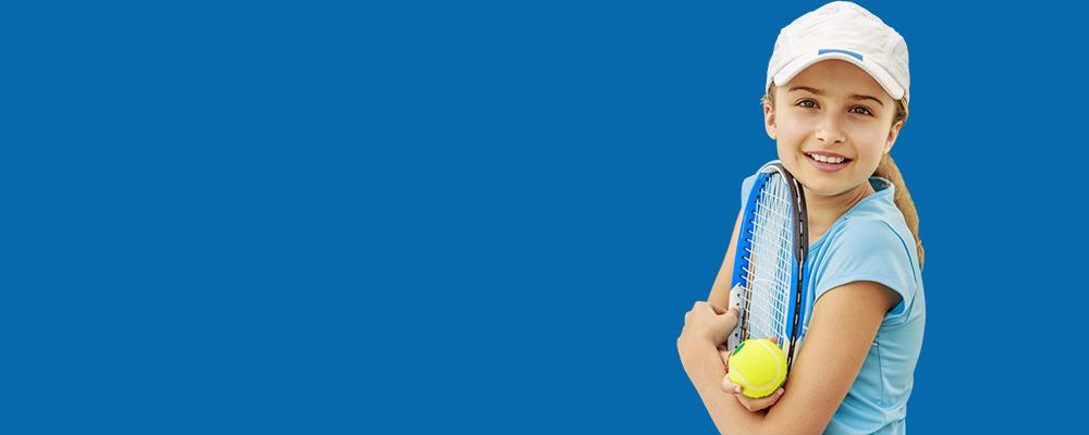 Learn basics of tennis