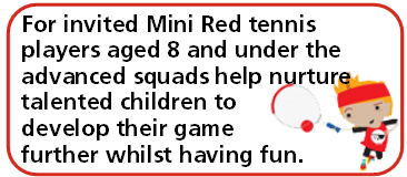 Advanced Min Tennis Red