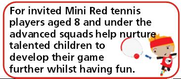 Advanced Min Tennis Red